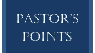 May Pastor Points
