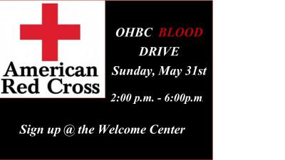 OHBC BLOOD DRIVE