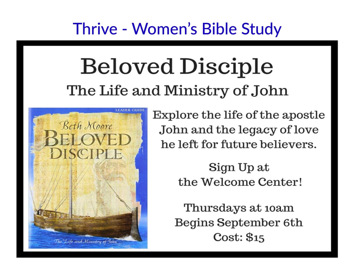 Thrive - Beloved Disciple - Bible Study